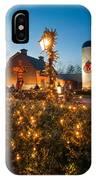 Christmas Village Decorations IPhone Case
