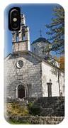 Church In Cetinje Montenegro IPhone Case
