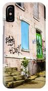Cincinnati Glencoe-auburn Row Houses Picture IPhone Case