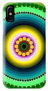 Circle Motif 225 IPhone Case
