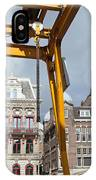 City Of Amsterdam Urban Scenery IPhone Case