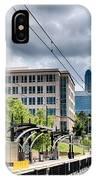 City Streets Of Charlotte North Carolina IPhone Case