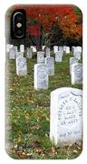 Civil War Dead At Arlington IPhone Case