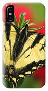 Close Up Of A Canadian Tiger IPhone Case