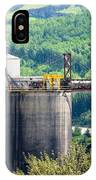 Coal Mine Electrical Energy Power Plant In Nature IPhone Case
