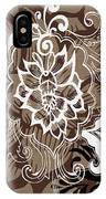 Coffee Flowers 10 IPhone Case