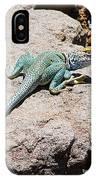 Collard Lizard  IPhone Case