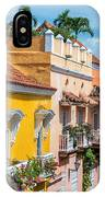 Colonial Balconies IPhone Case