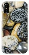 Colored Polished Rocks IPhone Case