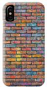 Colorful Brick Wall Texture IPhone Case