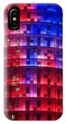 Colorful Elevation Of Modern Building IPhone Case