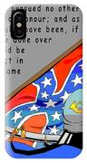 Confederate States Of America Robert E Lee IPhone Case