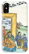 Confucius (c551-479 B IPhone Case