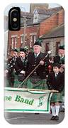 Corduff Pipe Band St Patricks Day Parade Carrickmacross IPhone Case
