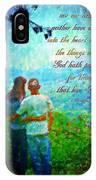 1 Corinthians 2 9 IPhone Case
