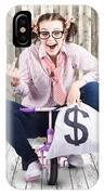 Corrupt Business Thief In A Smart Stealing Scam IPhone Case