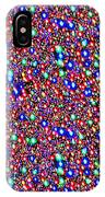 Cosmic Star Sparkles Spectrum Abstract Art By Navin Joshi Created Out Of Christmas Lights Gifts And  IPhone Case
