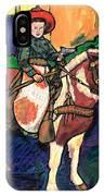 Cowboy Dale IPhone Case
