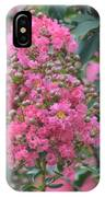 Crepe Myrtle Blossoms  IPhone Case
