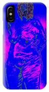Croquis In Blue IPhone Case