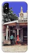 Crossroads Store Bar Juke Joint And Gas Station Fsa Marion Post Wolcott Melrose Louisiana IPhone Case