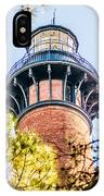 Currituck Beach Lighthouse On The Outer Banks Of North Carolina IPhone Case