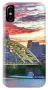 Daniel C Beard Bridge In Cincinati  B9925 IPhone Case