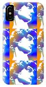 David Repeat Treatment One Color IPhone Case