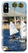 Davis Island Yacht Club IPhone Case