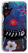 Day Of The Dead Chihuahua IPhone Case