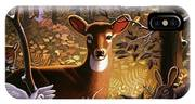 Deer In The Forest IPhone Case