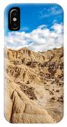 Desert And Blue Sky IPhone Case