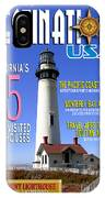 Destinations Usa Faux Magazine Cover IPhone Case