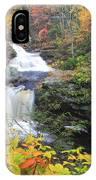 Doanes Falls In Autumn IPhone Case