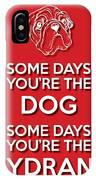 Dog Or Hydrant Red IPhone Case
