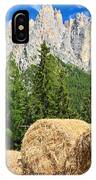 Dolomiti - Alpine Pasture IPhone Case
