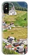 Dolomiti - Laste Village IPhone Case