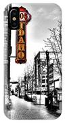 Downtown Boise IPhone Case