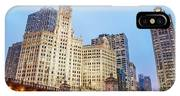 Downtown Chicago View IPhone Case