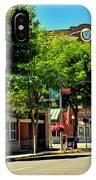 Downtown Pullman Washington IPhone Case