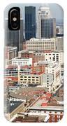 Downtown Skyline Of Louisville Kentucky IPhone Case