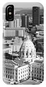 Downtown Skyline St. Paul Minnesota IPhone Case