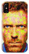 Dr. House - Maple Leaves IPhone Case