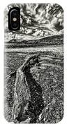 Driftwood Mono IPhone Case