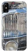 Duesenberg Front Chrome Automobile Grille IPhone Case