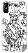 Durer: Syphilitic, 1496 IPhone Case