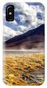 Dusty Desert Road Bolivia IPhone Case