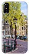 Dutch Canal Houses In Amsterdam IPhone Case