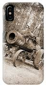Early 1900's Steam Engine Farm Tractor IPhone Case
