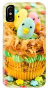 Easter Cupcakes  IPhone Case
